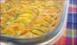 gratin courgettes pommes de terre