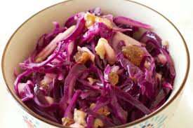 salade chou rouge noix