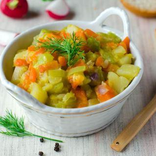 fondue carottes poireaux pdt