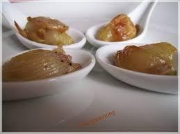cuillères d'échalotes