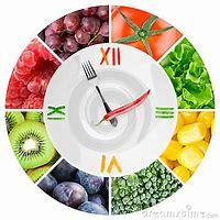 horloge légumes