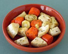 légumes rotis à la grecque
