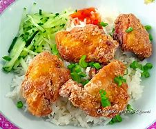 poulet croustillant riz